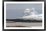 Suilven in Winter, Framed Mounted Print