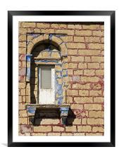 Dwejra Balcony, Framed Mounted Print