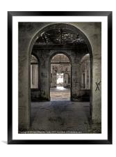 The Hallway, Framed Mounted Print