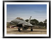 Eurofighter Typhoon, Framed Mounted Print