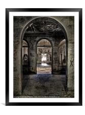 Shadow Ghost, Framed Mounted Print