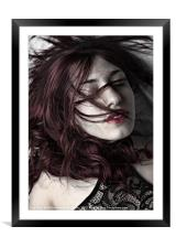 Red Hair, Framed Mounted Print
