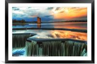 Strathclyde Park Loch, Framed Mounted Print