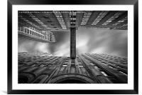 East 24th, Framed Mounted Print