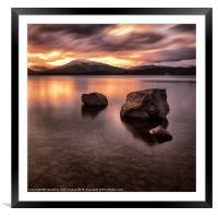Loch Lomond Argyll, Framed Mounted Print