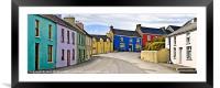 Eyeries Village, West Cork, Ireland, Framed Mounted Print