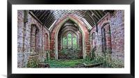 Old Church, Framed Mounted Print