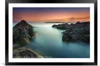 Ayrshire Sunset, Framed Mounted Print