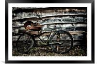 dutch bike, Framed Mounted Print