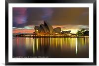 Notes of the Golden Hour, Framed Mounted Print