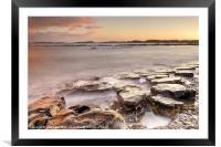 Newton-on-the-Sea Sunset, Framed Mounted Print