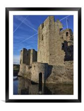 Vapour Trails, Framed Mounted Print