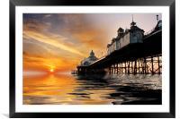 Eastbourne Pier Sunrise, Framed Mounted Print