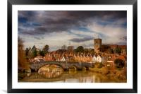 Aylesford, Framed Mounted Print