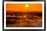 In the Beginning , Framed Mounted Print