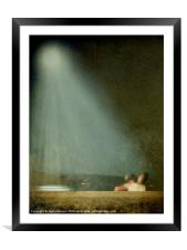 Caught in the Moonlight, Framed Mounted Print