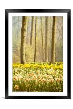 A Spring Day, Framed Mounted Print