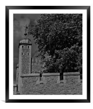 Tower of London, Framed Mounted Print