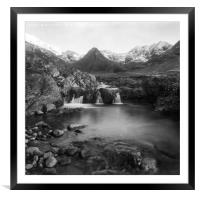 The Fairy Pools, Framed Mounted Print
