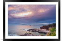 Hole in The Sky, Framed Mounted Print