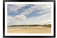 Sandend Beach Photo, Framed Mounted Print