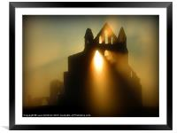 Burning Through, Framed Mounted Print