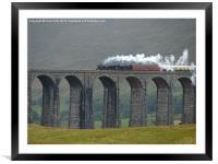 Ribblehead Viaduct, Settle and Carlisle, Framed Mounted Print