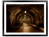 Headstone Tunnel, Derbyshire, Monsal Trail, Framed Mounted Print