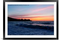 St Ives, Cornwall, Framed Mounted Print