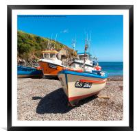 Cadgwith Cove, Cornwall , Framed Mounted Print