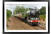 Tornado, The Walton Pier Express, Framed Mounted Print