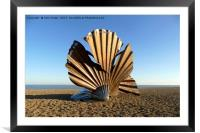 The Scallop, Framed Mounted Print
