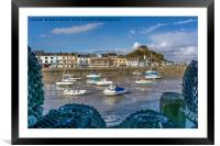 Ilfracombe Harbour at Low Tide, Framed Mounted Print