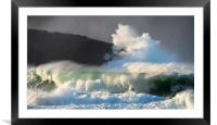 Clogher fun, Framed Mounted Print