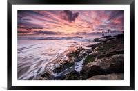 Branksome Sunrise, Framed Mounted Print