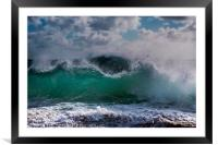 Waves, Framed Mounted Print