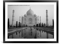 The Taj Mahal, Framed Mounted Print