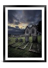 Resting Place, Framed Mounted Print