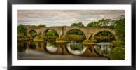 Stirling Old Bridge, Framed Mounted Print