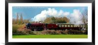 Locomotive 48624, Framed Mounted Print
