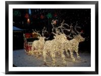 Christmas is Here!, Framed Mounted Print