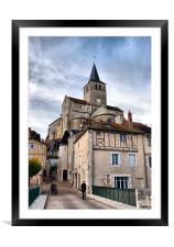Montmorillon, Framed Mounted Print