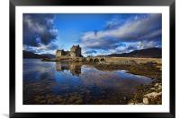 Eilean Donan Castle - Scotland, Framed Mounted Print