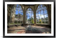 Solitary Conservatory, Framed Mounted Print