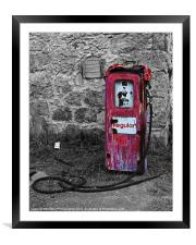 Gasoline ends, Framed Mounted Print