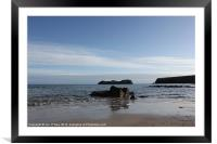 HEBRIDES BEAUTIFUL BAYBLE BEACH OF LEWIS 23, Framed Mounted Print