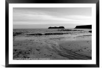 HEBRIDES BEAUTIFUL BAYBLE BEACH OF LEWIS 30, Framed Mounted Print