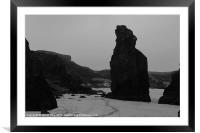 HEBRIDES  GARRY BEACH NORTH TOLSTA 41, Framed Mounted Print