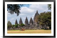 Prambanan, Framed Mounted Print