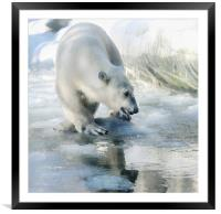 lovely weather today, Framed Mounted Print